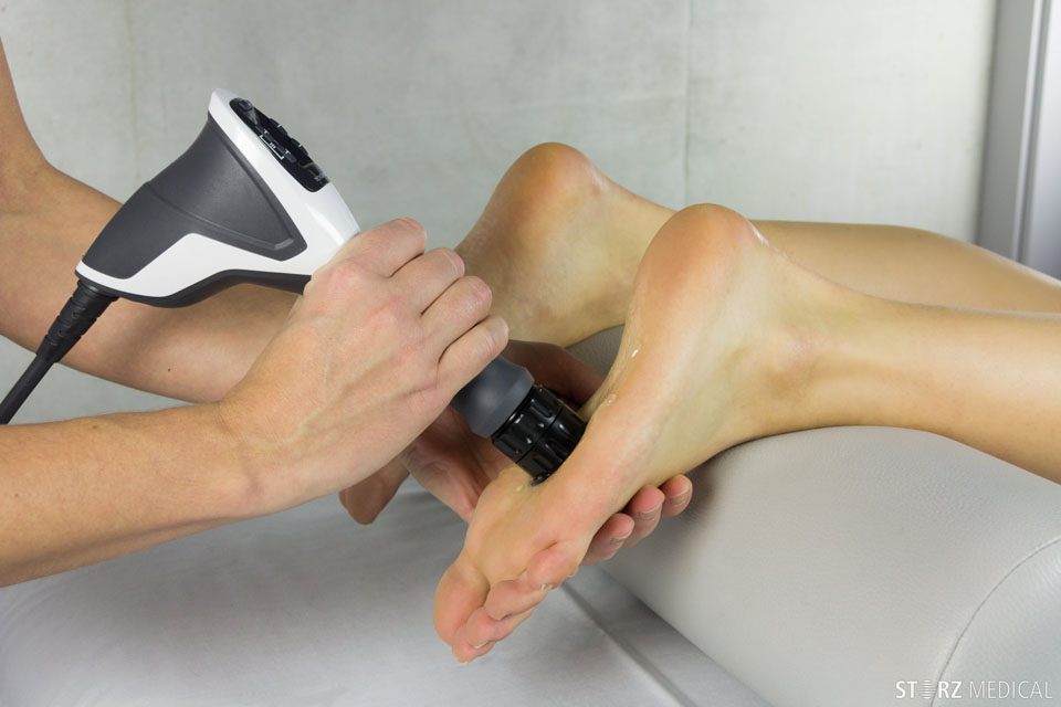 Extracorporeal Radial Shockwave Therapy Podiatry Treatment